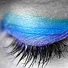 Blue eyelid