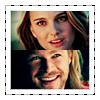 Jane & Thor smile