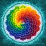 Daphne: spiral rainbow