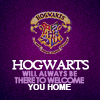 HP: Hogwarts will always welcome you hom