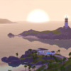sunsetlighthouse