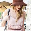 hat pink dress