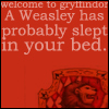 Weasley in your bed