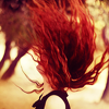 Kiwi Crocus: Hair || Red-head flip.