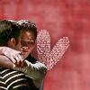 Klaine hug heart