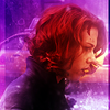 The Avengers - Natasha purple