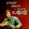 "Swedish for ""Smith"": SPN Sam knows karate"