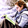 HP - Hermione reading