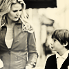OUAT: Emma and Henry in Sepia