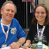 Lisa Moulton: Peter Davison and me!