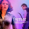 Clint/Natasha (Purple Forever)
