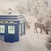 miwahni: Dr Who Snow TARDIS