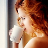Devoted driver: Stock - Girl having coffee