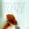 Afraid of the wolf - Lydia - TW