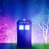 Tardis and World Trees - psychadelic