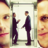 Adommy-Fangirl: Suits - Harvey/Mike *Elevator Side*