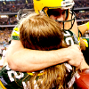 [Rodgers & Matthews] hugs