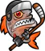 пираньи логотип команда