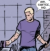 clint, no, coffee