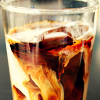 coffee and cream glass