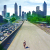 walking dead - approaching dead atlanta