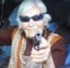 Страрушенция с пистолетом