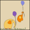 balloons, elephants
