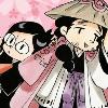 Chibi Shunsui and Nanao