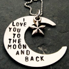 Kim: (Stock) Love you moon and back