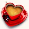 kittylefish: heart coffee