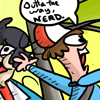 pokemon - OUTTA MY WAY NERRD