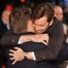 David hugs