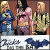 shakes kinder pinguy: dcu - chicks dig the bat