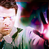 Why all the pearls?Why all the hair?Why anything?: SPN - Cas powered up