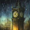 Stock: London Big Ben painting