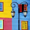 Аргентина. цветные дома