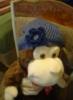 hat, crochet, Monkey