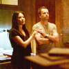 a lanky brunette with a wicked jaw: elementary || superior beings