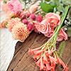 Emma: stock: fleurs sur table