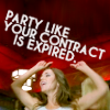 Andy: Dollhouse: Party like your contract is e