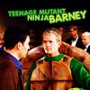 Andy: HIMYM: Teenage Mutant Ninja Barney