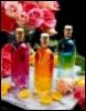 цветные бутылки