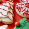 Oshun: Christmas cookies iced