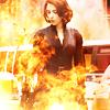 Lenre Li: The Avengers - Natasha flames