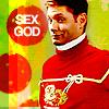 mrsr58: jensen ugly sweater sex god