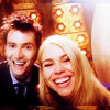 fantastic, laughter, doctor who: rose/ten, happy