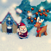seasons : christmas figurines