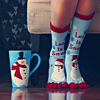 seasons : winter socks and mug.