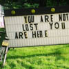 you are not lost