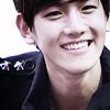 exo : baekhyun : smile